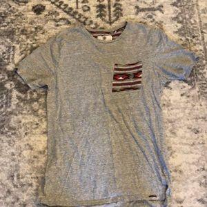 Shirt sleeved T-shirt